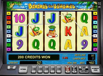 Онлайн автомат Bananas Go Bahamas