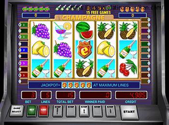 Игровой онлайн автомат Champagne