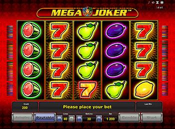 Онлайн автомат Mega Joker