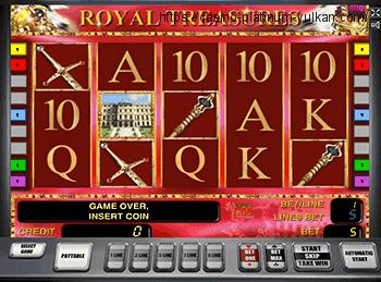 Royal Treasures - играть онлайн