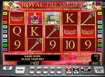 Играть в автомат Royal Treasures